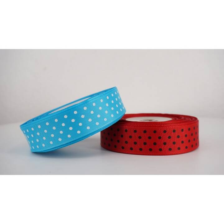 Pita Grosgrain / Salur Polkadot 1""