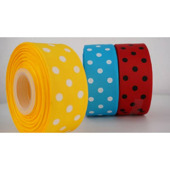 Pita Grosgrain / Salur Polkadot 1,5""