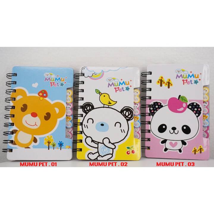 Buku Diary / Catatan / Saku Small Xq86k Ring1