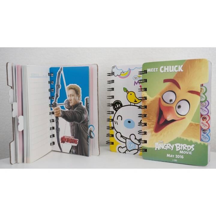 Buku Diary / Catatan / Saku Small Xq86k Ring4