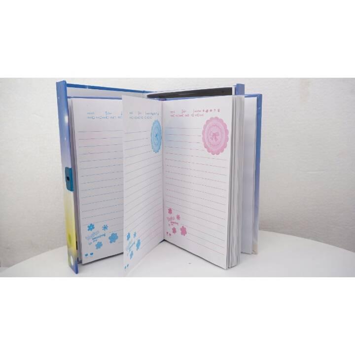 Buku Diary / Catatan With Padlock Sky Tower1