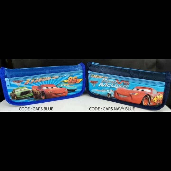 Kotak Pensil Motif Cars2