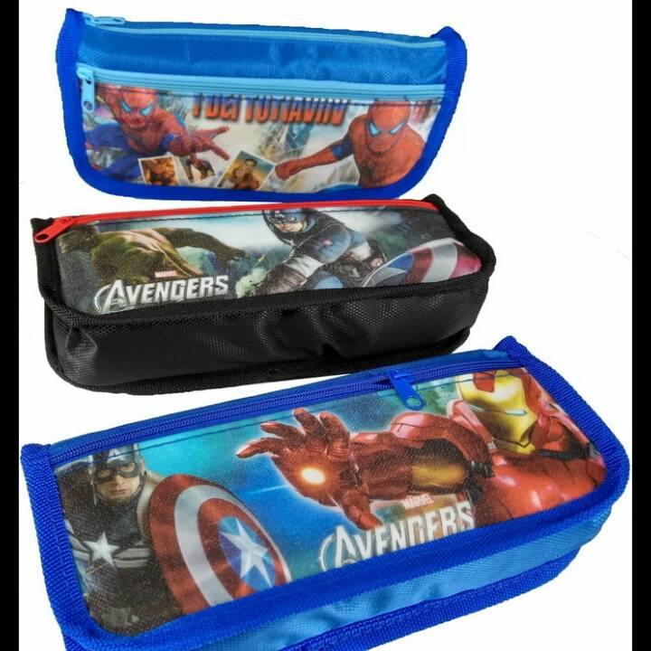 Kotak Pensil Motif Marvel