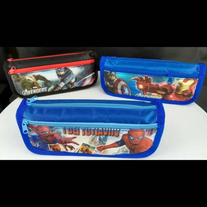 Kotak Pensil Motif Marvel2