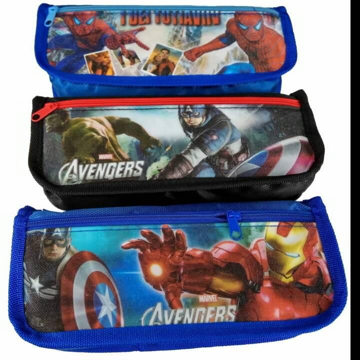 Kotak Pensil Motif Marvel3
