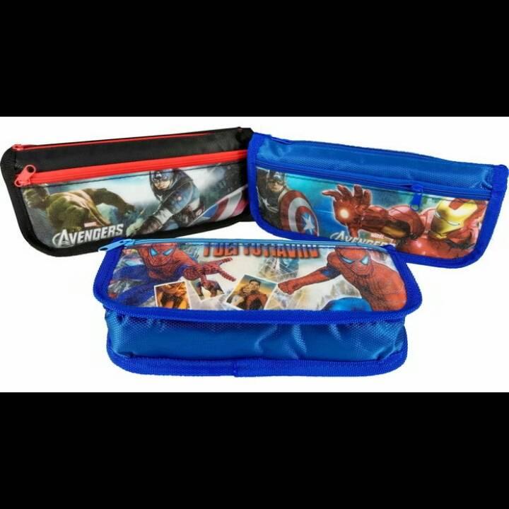 Kotak Pensil Motif Marvel4