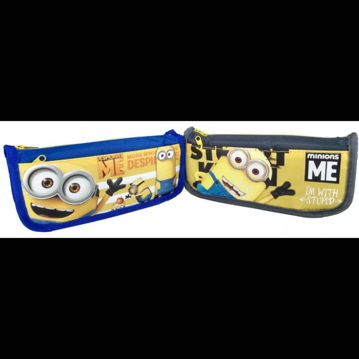 Kotak Pensil Motif Minions