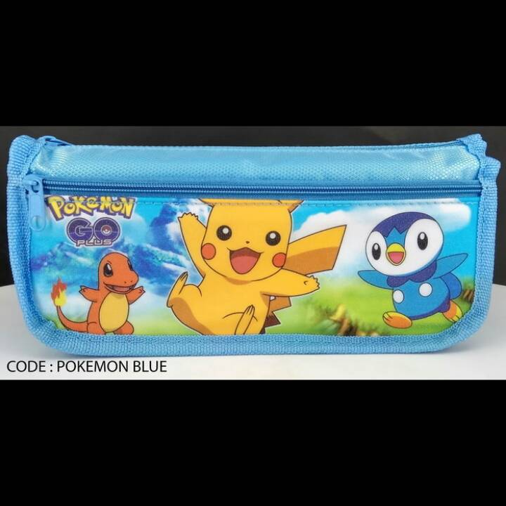 Kotak Pensil Motif Pokemon Go