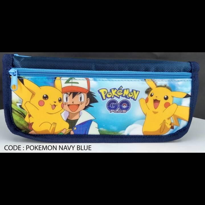 Kotak Pensil Motif Pokemon Go3