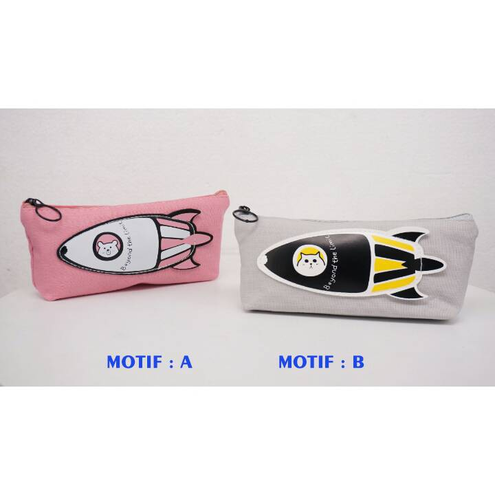 Kotak Pensil - Tempat Pensil Karakter - Pencil Case - Yc 208