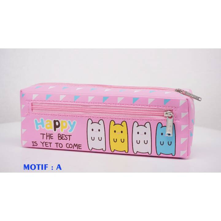 Kotak Pensil - Tempat Pensil Karakter - Pencil Case - Bd 362