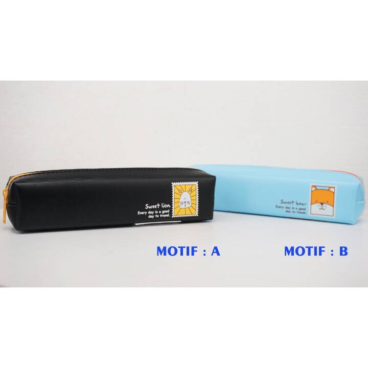 Kotak Pensil - Tempat Pensil Karakter - Pencil Case - Bd 3220