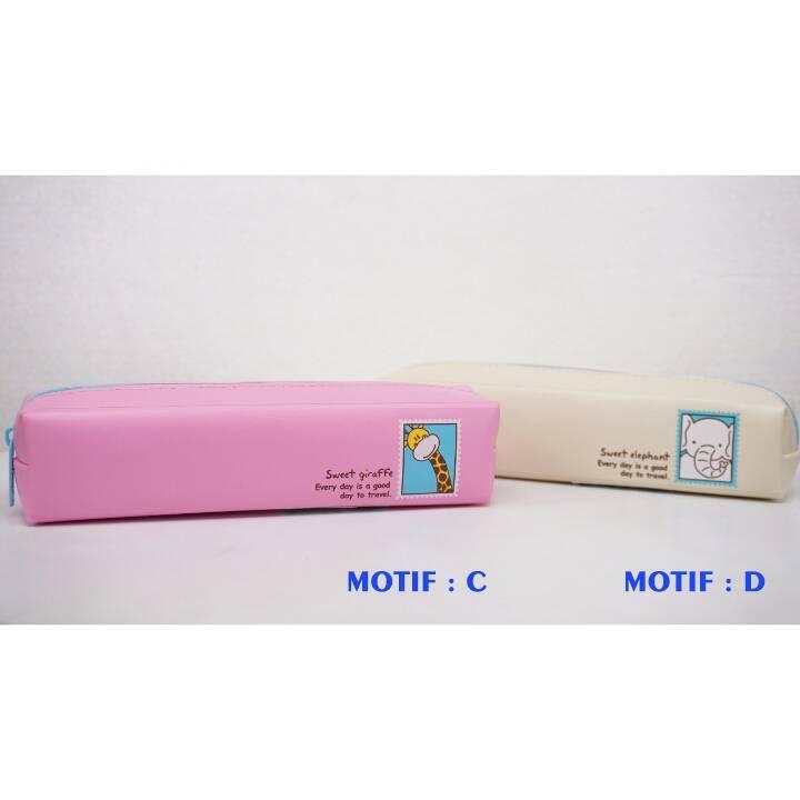 Kotak Pensil - Tempat Pensil Karakter - Pencil Case - Bd 3221