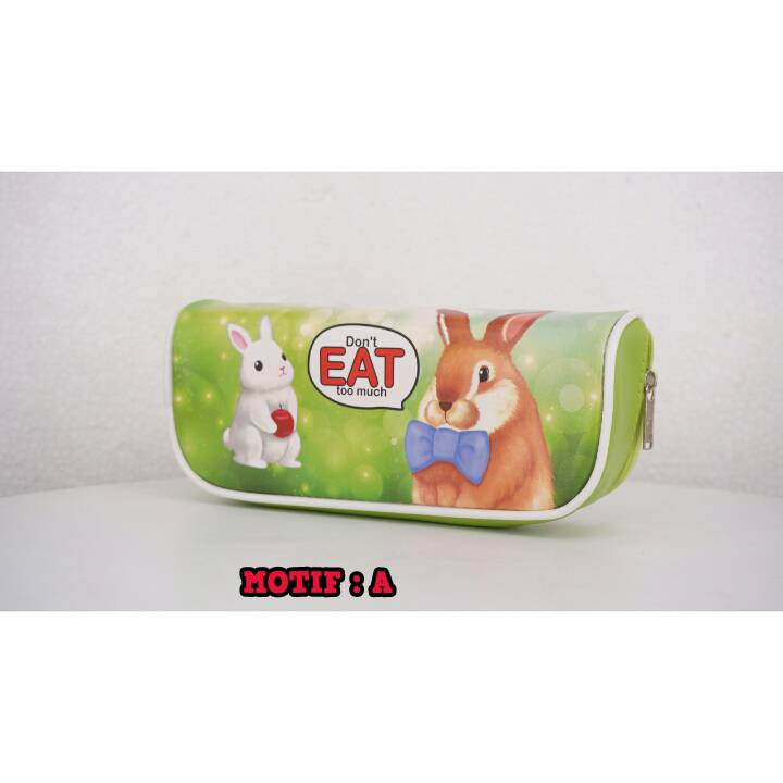 Kotak Pensil - Tempat Pensil Karakter - Pencil Case - Bd 621