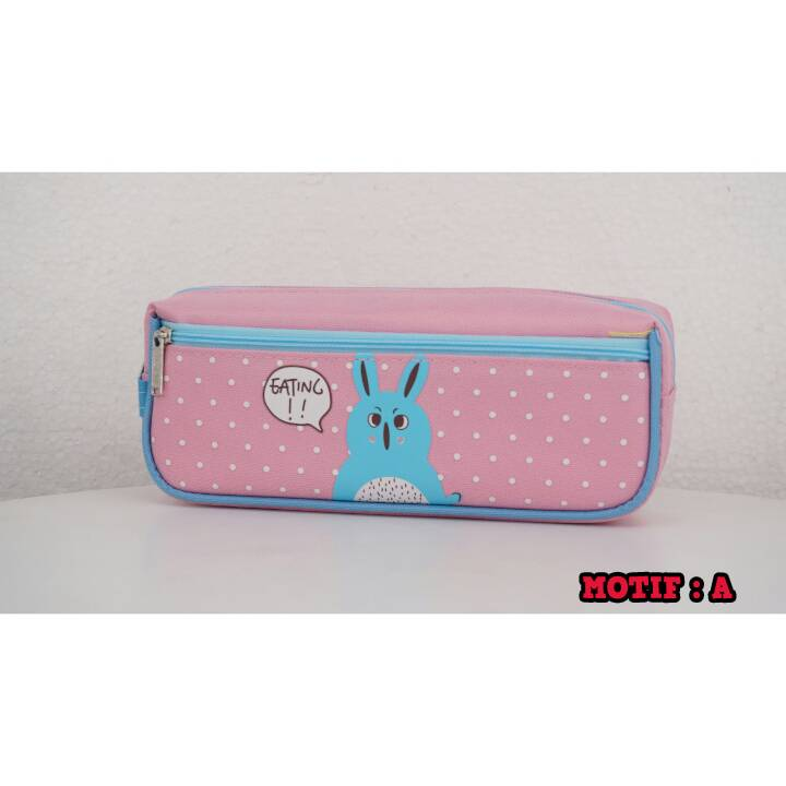 Kotak Pensil - Tempat Pensil Karakter - Pencil Case - Bd 597