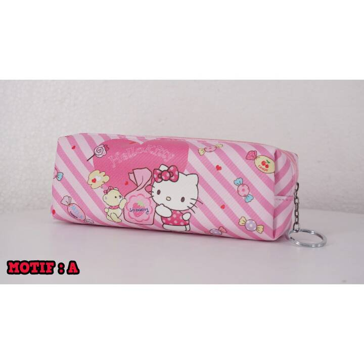 Kotak Pensil - Tempat Pensil Karakter - Pencil Case Motif