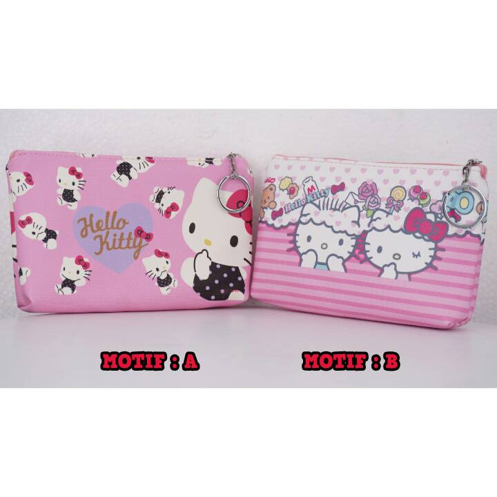 Bag Fancy Motif- Kotak Pencil - Pencil Case Motif