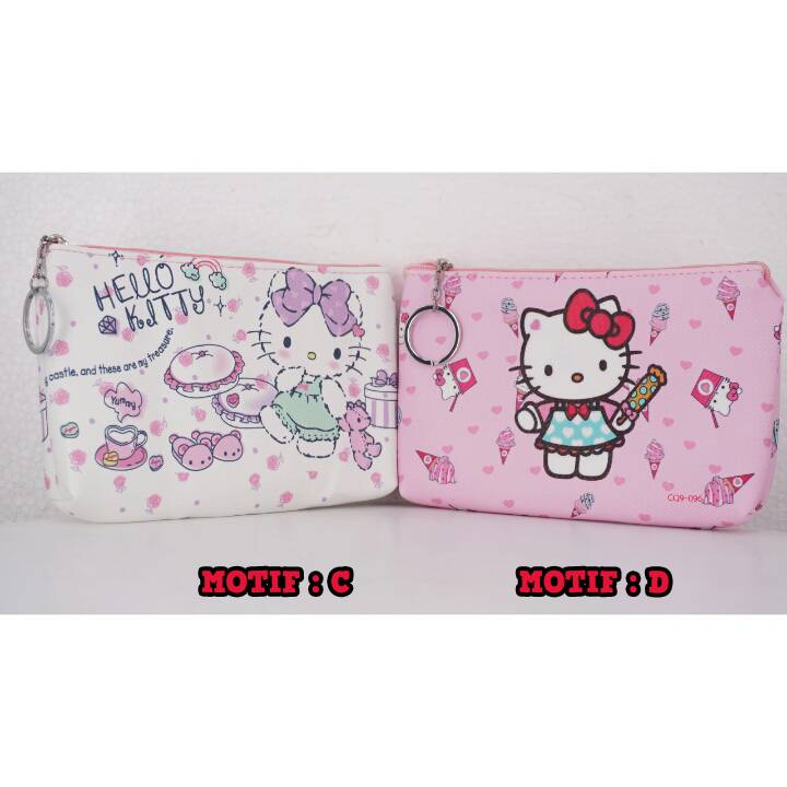 Bag Fancy Motif- Kotak Pencil - Pencil Case Motif1