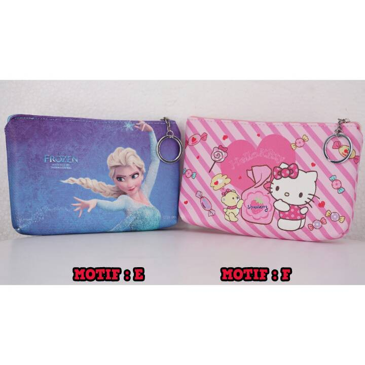 Bag Fancy Motif- Kotak Pencil - Pencil Case Motif2