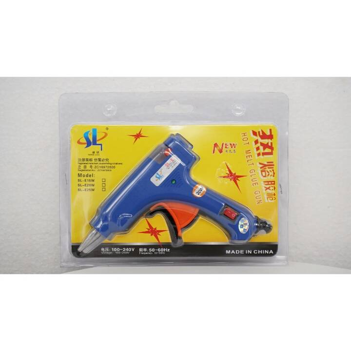 Glue Gun - Hot Melt Glue Gun - Lem Tembak Small 20 Watt0