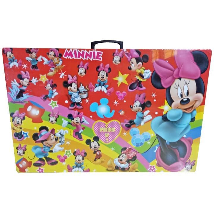 Meja Belajar Anak / Kids Table / Meja Belajar Lipat Motif Mickey Mouse2