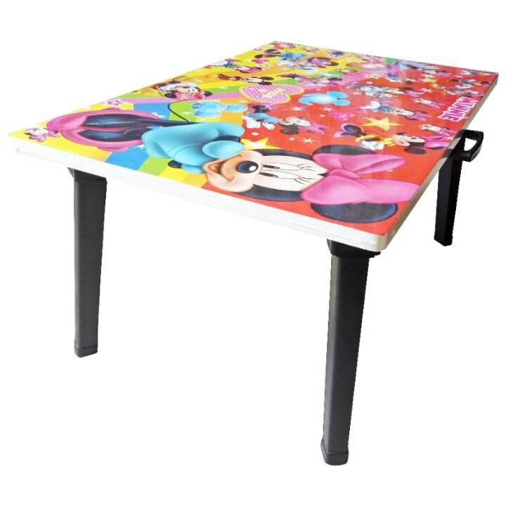 Meja Belajar Anak / Kids Table / Meja Belajar Lipat Motif Mickey Mouse3