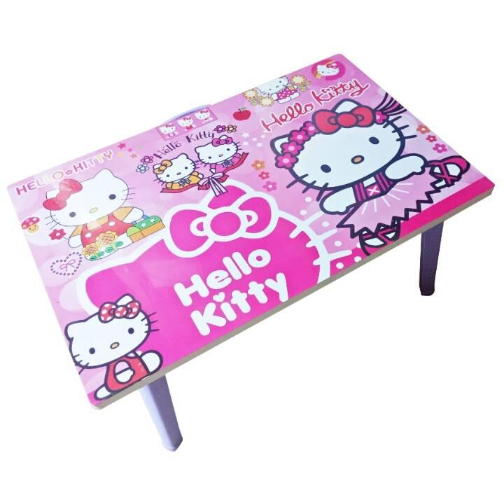 Meja Belajar Anak / Kids Table / Meja Belajar Lipat Motif Hello Kitty4