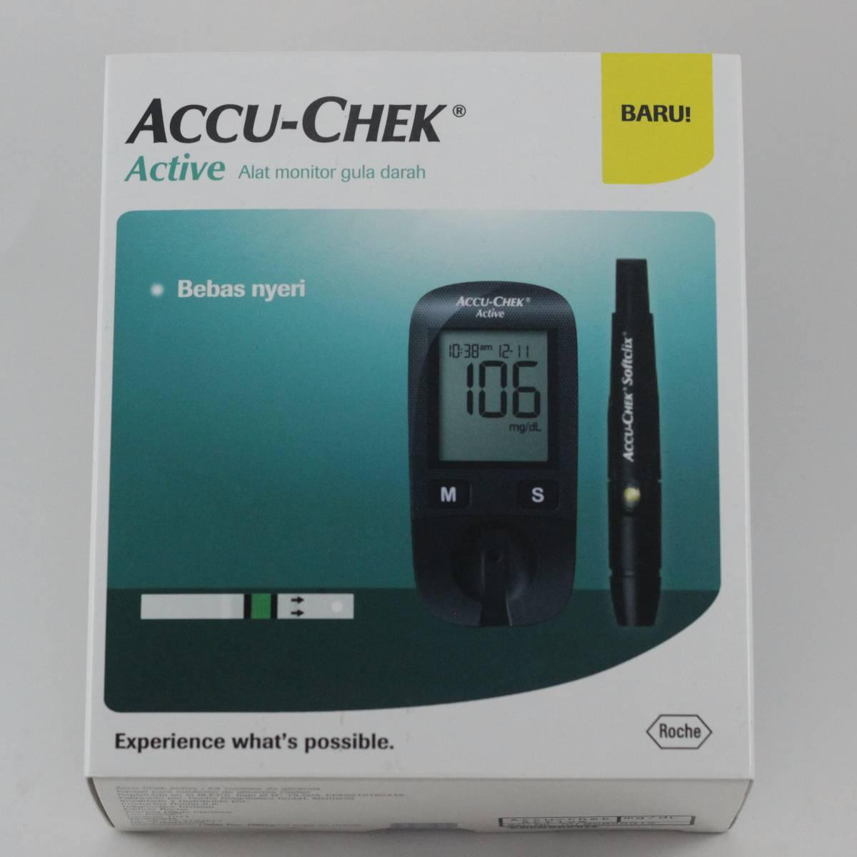 Alat Cek Gula Darah Accu-check Active