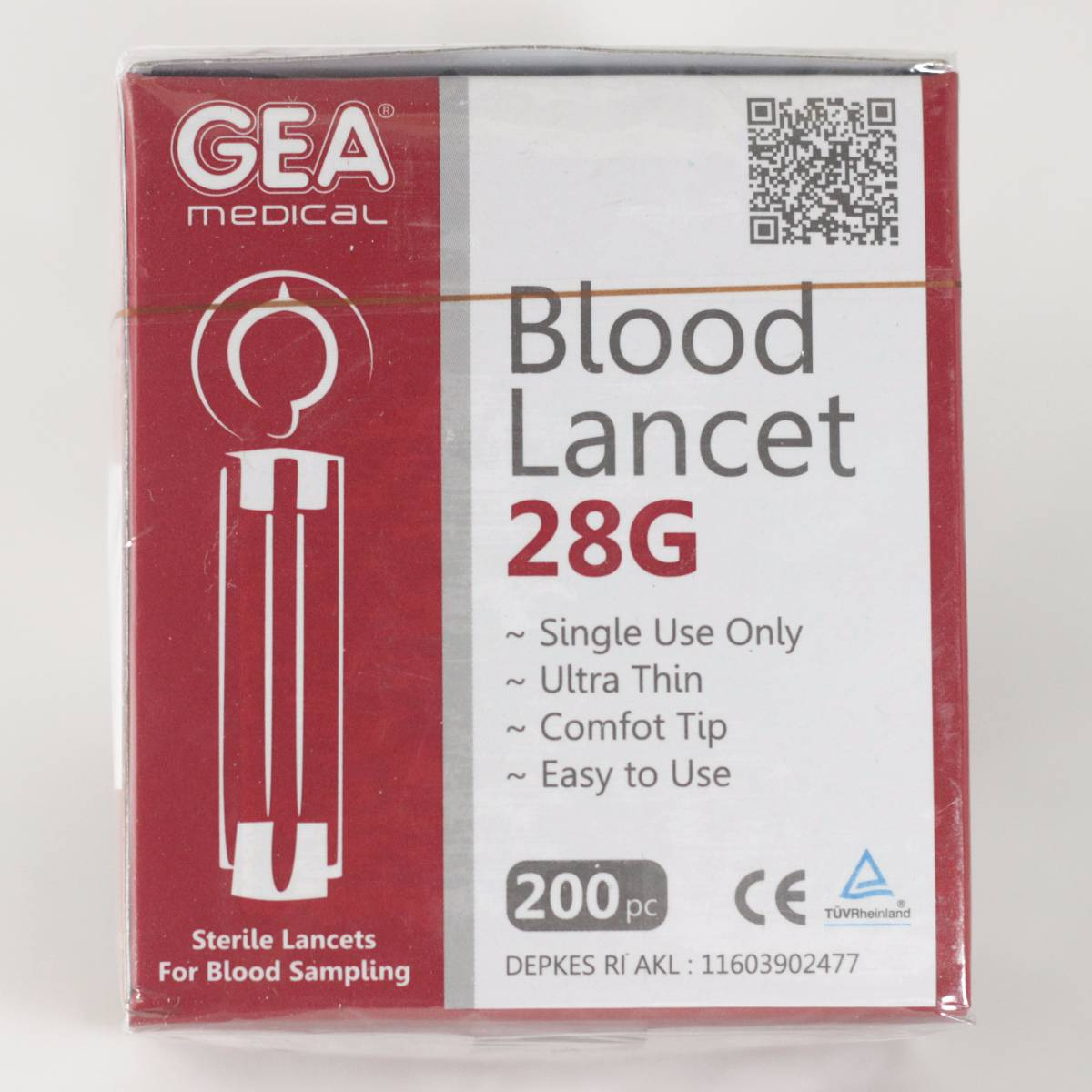 Gea Blood Lancets 200 Pcs