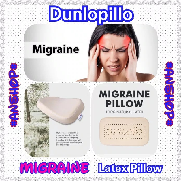 Dunlopillo Bantal Latex Migraine