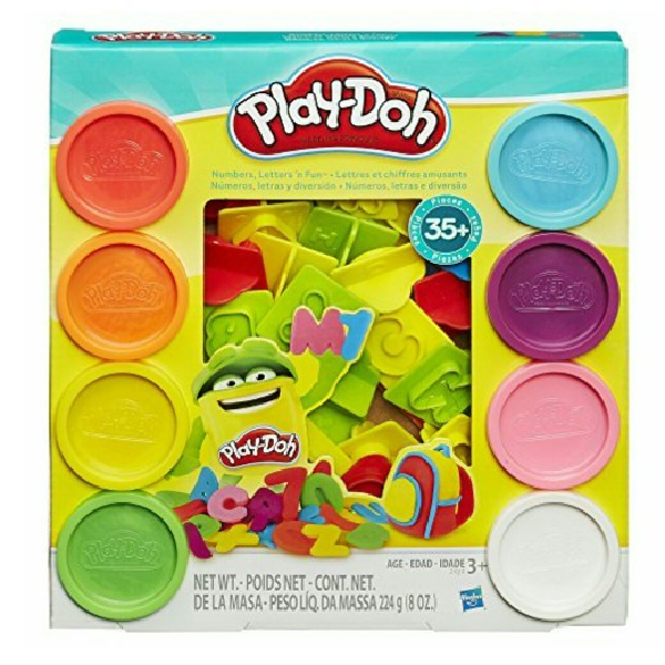 Playdoh Numbers, Letters N Fun Original0