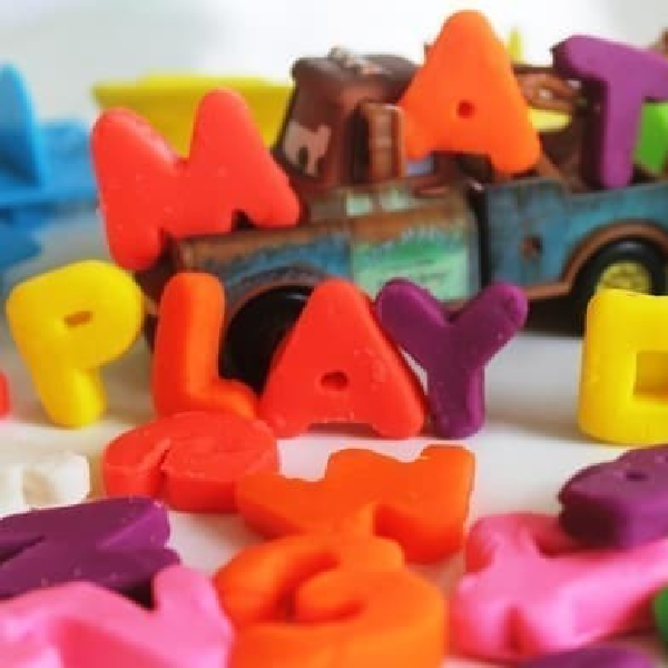 Playdoh Numbers, Letters N Fun Original3