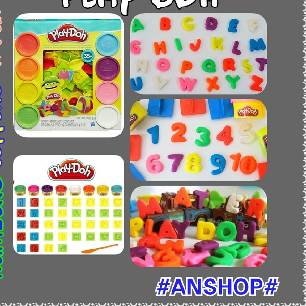 Playdoh Numbers, Letters N Fun Original4