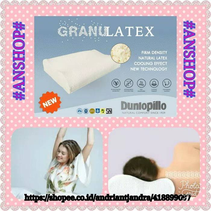 Dunlopillo - Bantal Ergo Granulatex
