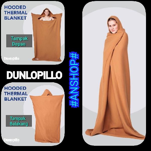 Selimut Dunlopillo Hooded Thermal Blanket