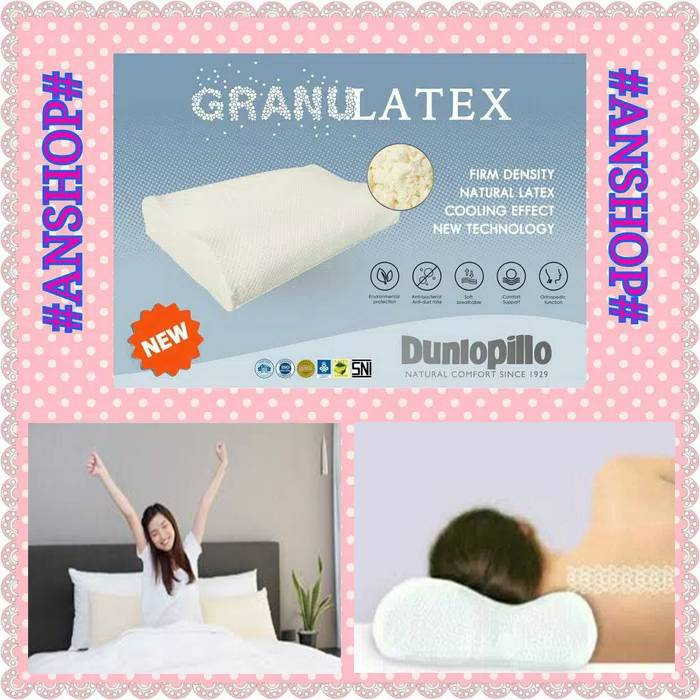 Dunlopillo - Bantal Ergo Granulatex