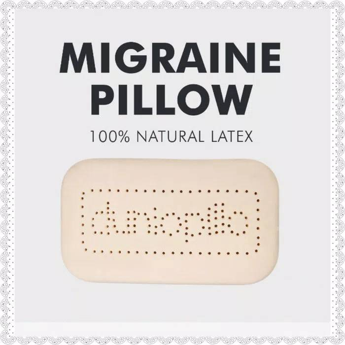 Dunlopillo Bantal Latex Migraine2