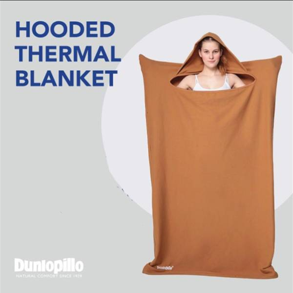 Selimut Dunlopillo Hooded Thermal Blanket3