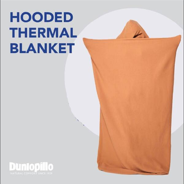 Selimut Dunlopillo Hooded Thermal Blanket4