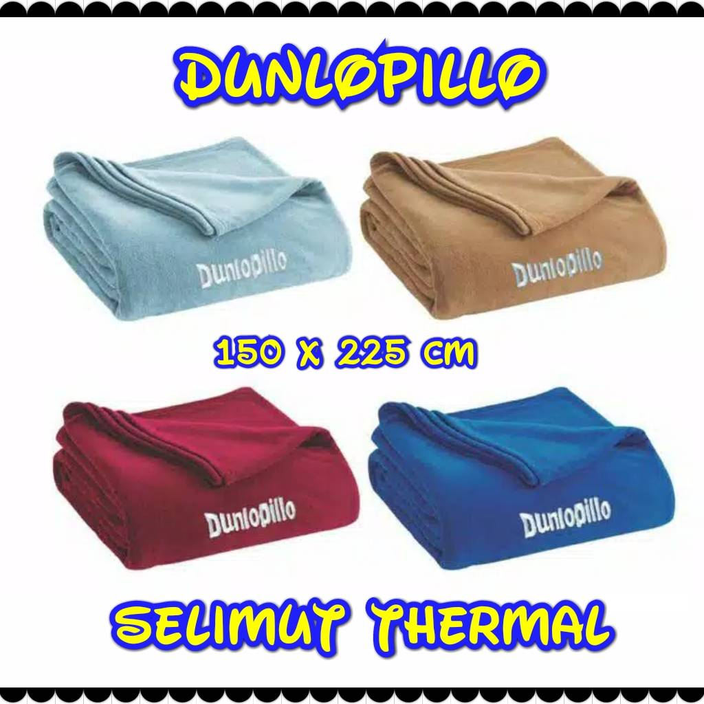 Dunlopillo - Selimut Thermal Blanket0