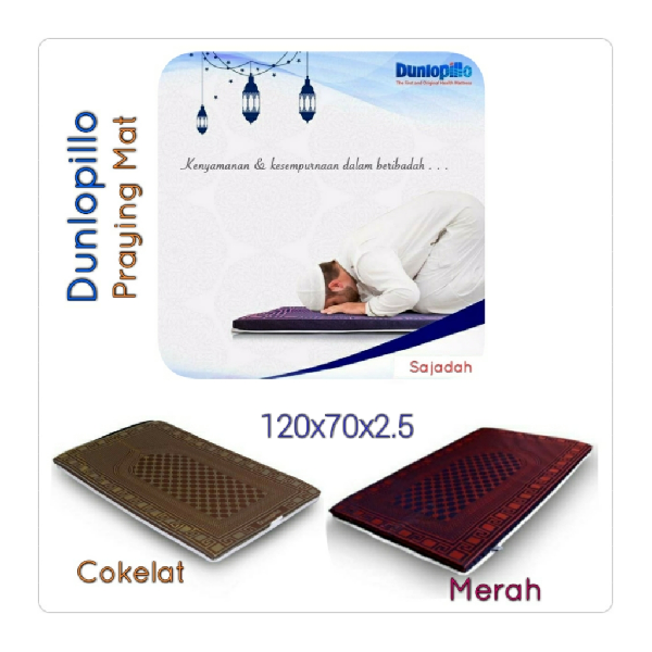 Dunlopillo Praying Mat - Sajadah Latex