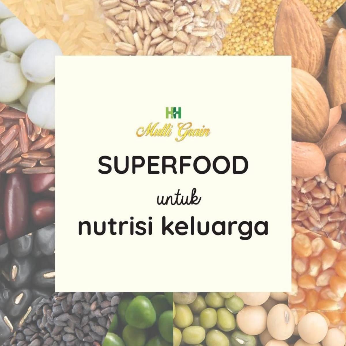 HH Multigrain - Superfood untuk Nutrisi