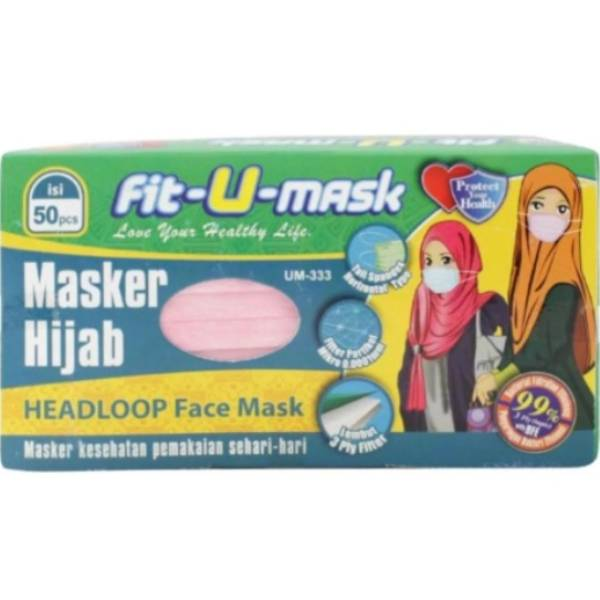 Fit U Mask Earloop dan Headloop masker murah 3Ply1