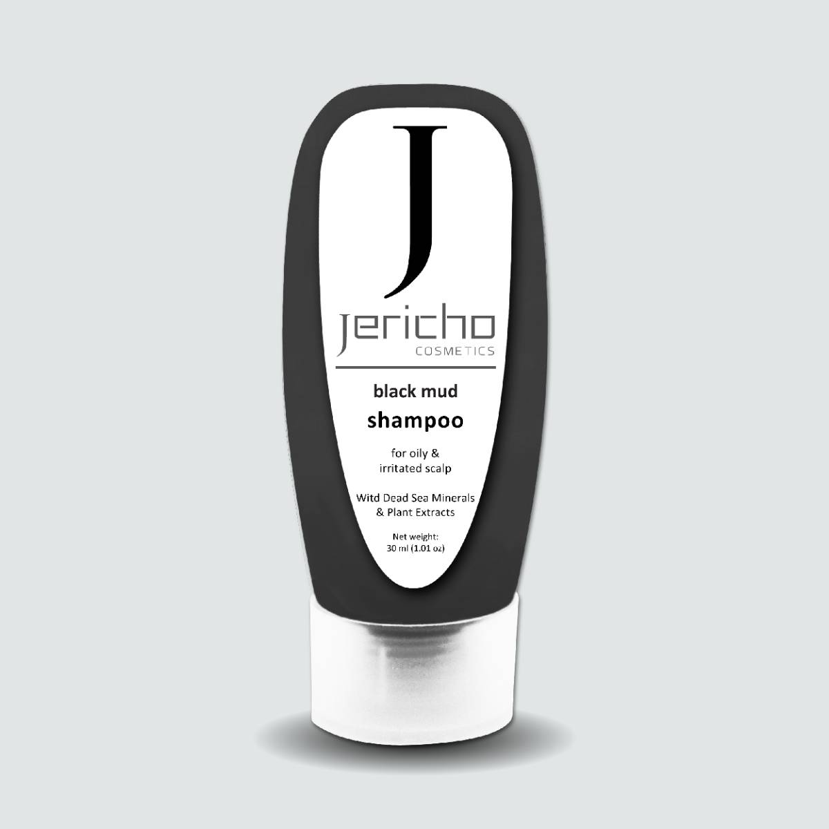 Jericho Black Mud Shampoo - 100 Ml