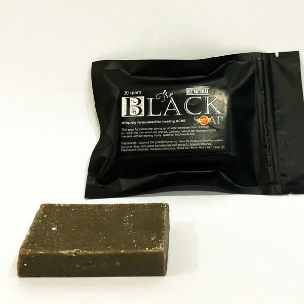Jericho Black Soap - 30gr0