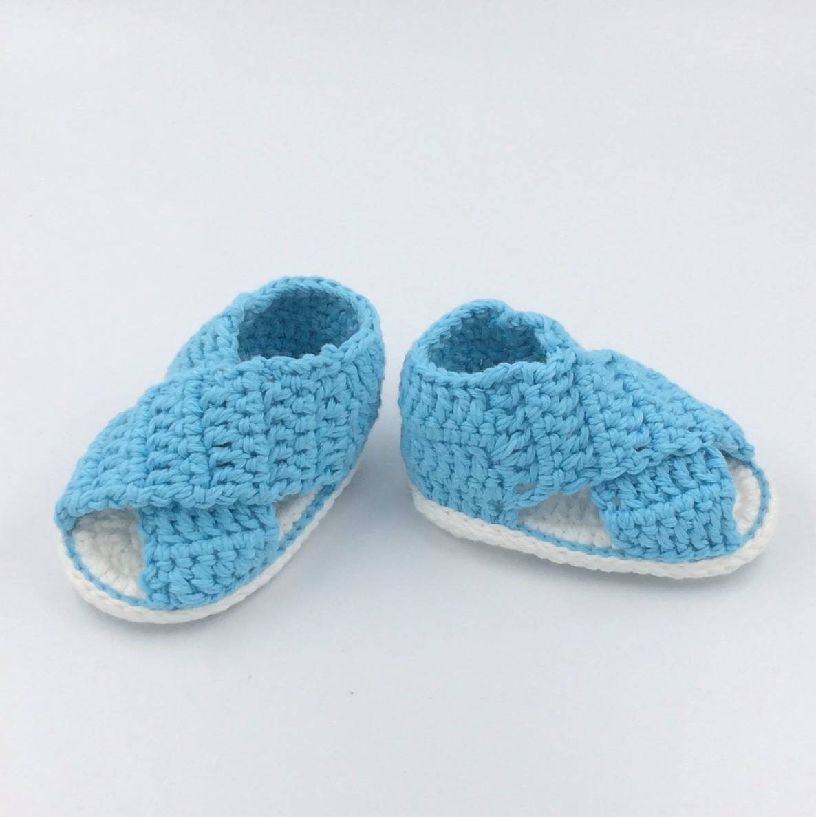 Baby Sandal In Blue0