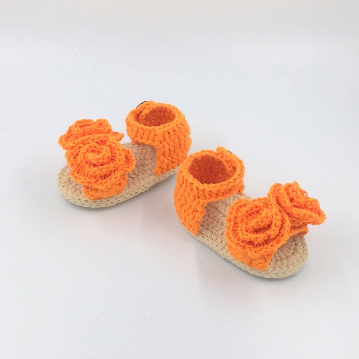 Cute Baby Sandal Orange