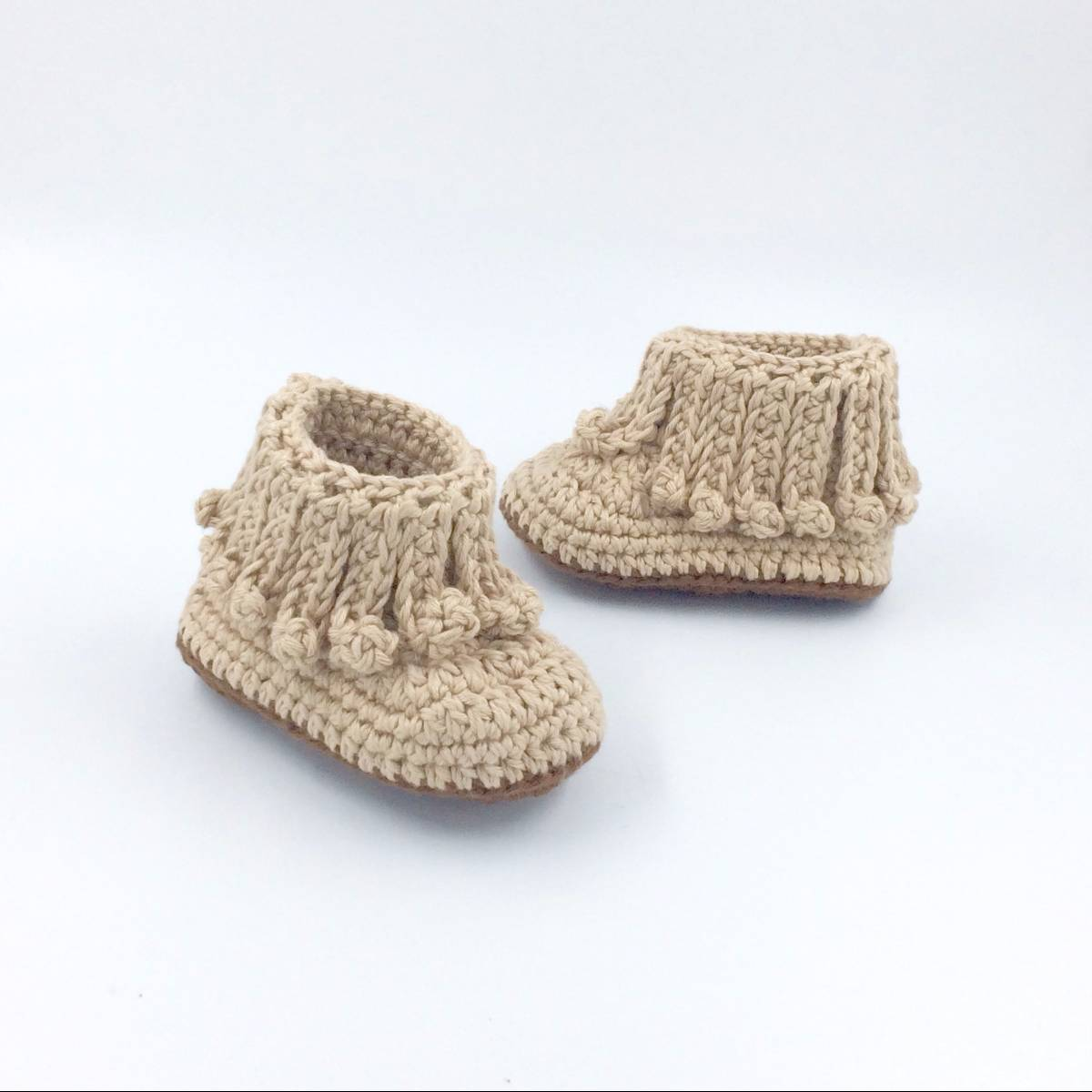 Cute Baby Shoe In Brown