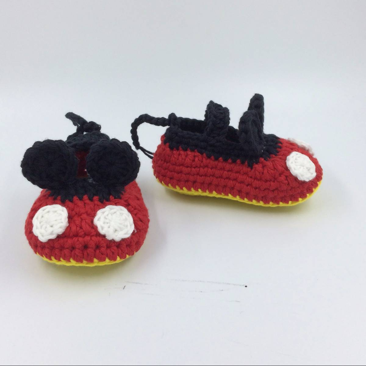 Cute Mickey Mouse Baby Shoe