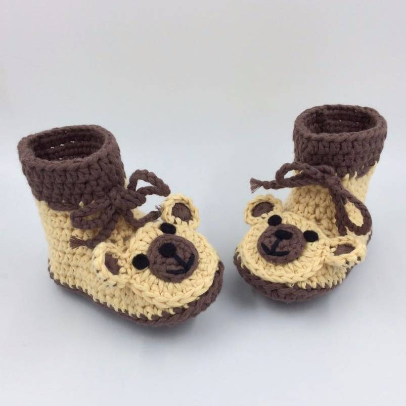 Cute Baby Shoe Bear